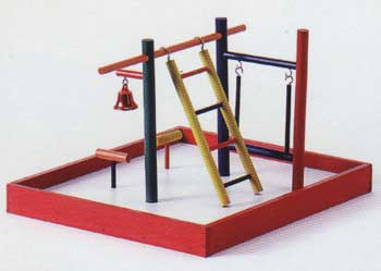 Parakeet Park Tabletop Playground