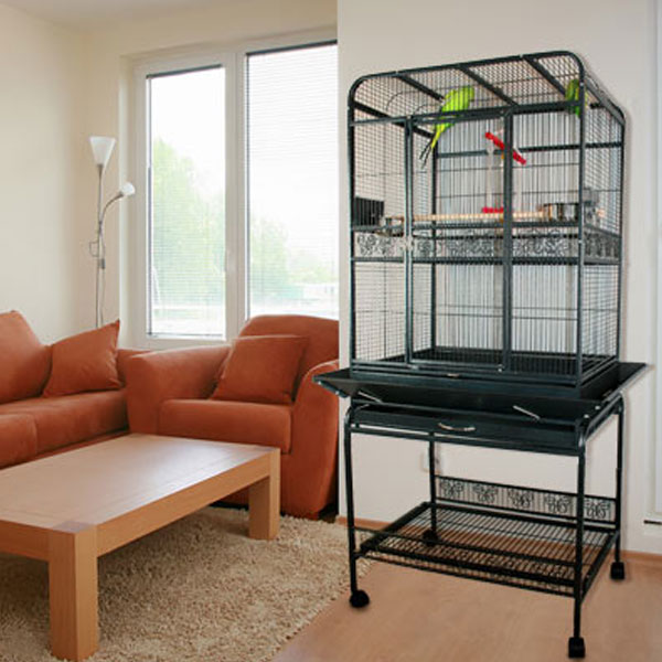 Palama Place Playtop Bird Cage With Stand