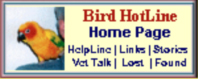 Bird Hotline home page